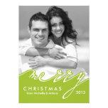 Frohe Weihnacht-Feiertags-Karten