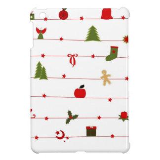 Frohe Weihnacht-Feiertagsfeiern Weihnachtsmann iPad Mini Hülle