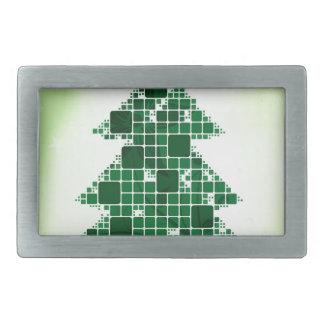 Frohe Weihnacht-Feiertagsfeiern Weihnachtsmann Rechteckige Gürtelschnallen