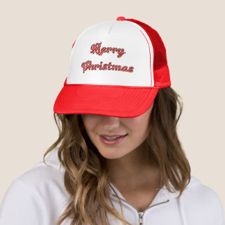 Frohe Weihnacht-Fernlastfahrer-Hut Truckerkappe