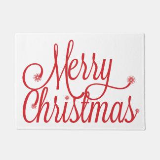 Frohe Weihnacht-Fußmatte Türmatte