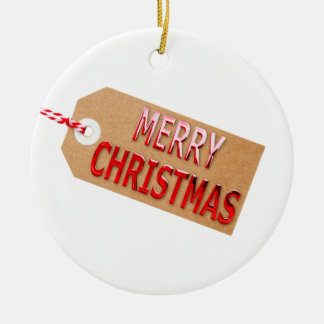 Frohe Weihnacht-Geschenk-Umbau-Keramik-Verzierung Rundes Keramik Ornament
