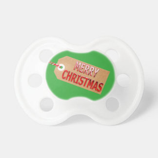 Frohe Weihnacht-Geschenk-Umbau-Schnuller Schnuller
