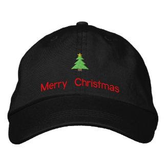 Frohe Weihnacht-gestickter Hut Baseballkappe