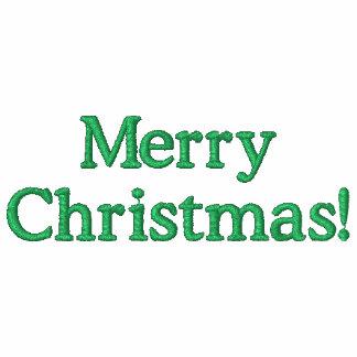 Frohe Weihnacht-gesticktes Sweatshirt