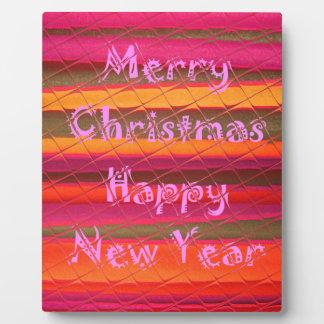 Frohe Weihnacht-guten Rutsch ins Neue Fotoplatten