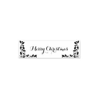 Frohe Weihnacht-guten Rutsch ins Neue Jahr Permastempel