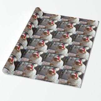 Frohe Weihnacht-Hamster-Packpapier Geschenkpapier