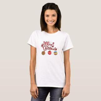 Frohe Weihnacht-hängende Verzierungen T-Shirt