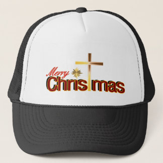 Frohe Weihnacht-Hut Truckerkappe