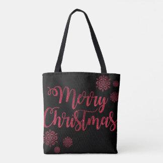 Frohe Weihnacht-Jahreszeit Tasche