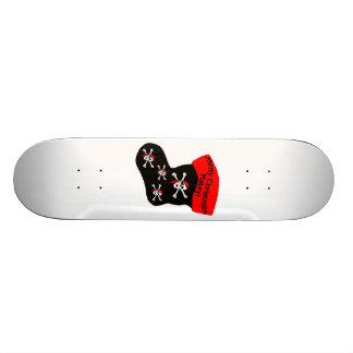 Frohe Weihnacht-kameradschaftlicher Strumpf Skateboarddeck