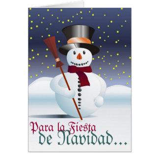 Frohe Weihnacht Karte