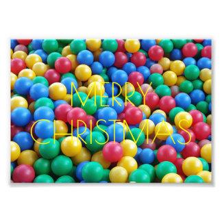Frohe Weihnacht-Kindergarten-Ball-Fotografie Photo