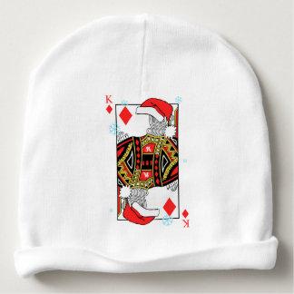 Frohe Weihnacht-König der Diamanten - addieren Sie Babymütze