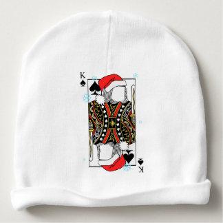 Frohe Weihnacht-König der Spaten - addieren Sie Babymütze