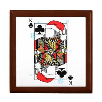 Frohe Weihnacht-König der Vereine - addieren Sie Geschenkbox