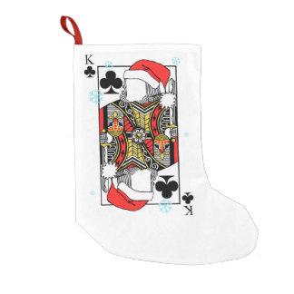 Frohe Weihnacht-König der Vereine - addieren Sie Kleiner Weihnachtsstrumpf