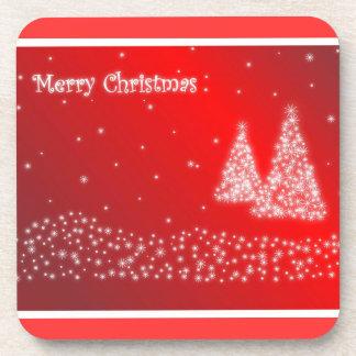 Frohe Weihnacht-Korken-Untersetzer