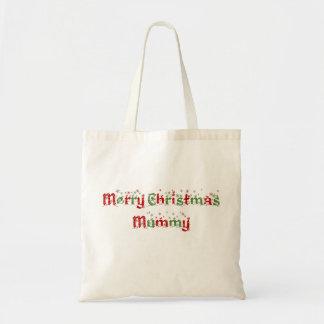 Frohe Weihnacht-Mama-Taschen-Tasche Tragetasche