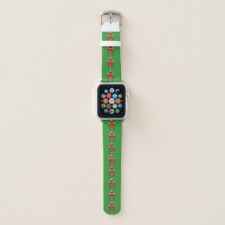 Frohe Weihnacht-Maus Apple Watch Armband
