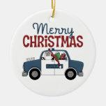 Frohe Weihnacht-Polizei verziert Weihnachtsbaum Ornamente