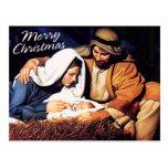 Frohe Weihnacht-Postkarte