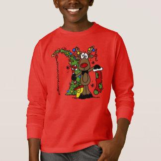 Frohe Weihnacht-Ren T-Shirt