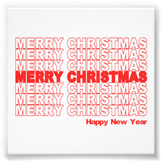 Frohe Weihnacht-Retro Feiertag Kunst Foto