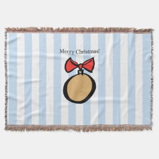 Frohe Weihnacht-rundes Decke