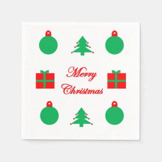 Frohe Weihnacht-Servietten Servietten