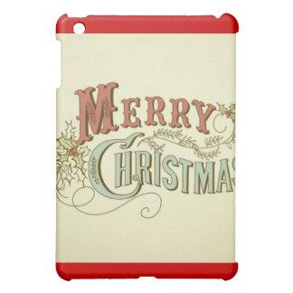 Frohe Weihnacht-Speck-Kasten iPad Mini Hülle