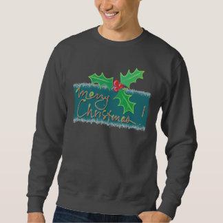 Frohe Weihnacht-Stechpalme Sweatshirt