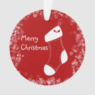 Frohe Weihnacht-Strumpf-Verzierung Ornament