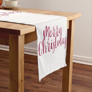 Frohe Weihnacht-Tabellen-Läufer Kurzer Tischläufer