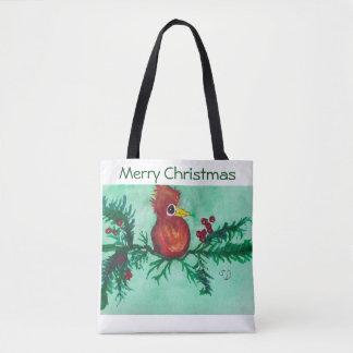 Frohe Weihnacht-Tasche Tasche