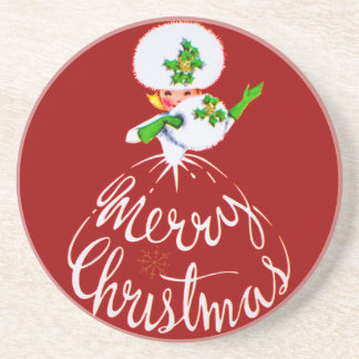 Frohe Weihnacht-Untersetzer