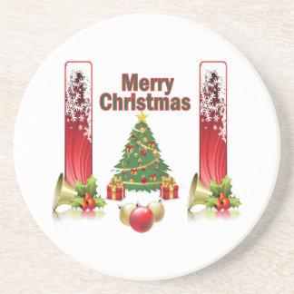 Frohe Weihnacht-Untersetzer Untersetzer