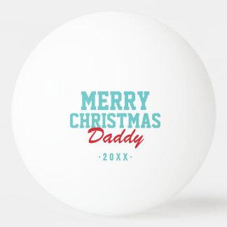 Frohe Weihnacht-Vati-FotoPing Pong Bälle Tischtennis Ball
