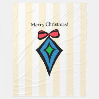 Frohe Weihnacht-Verzierung Fahrwerk-Fleece-Decke Fleecedecke