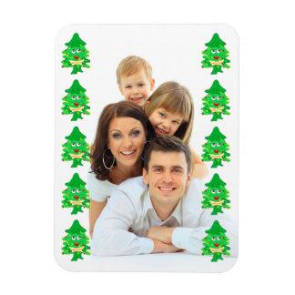 frohe Weihnacht-Weihnachtsbaum Magnet
