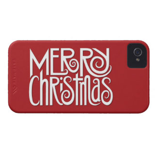 Frohe Weihnacht-weißer mutiger 9700/9780 Kasten iPhone 4 Hüllen