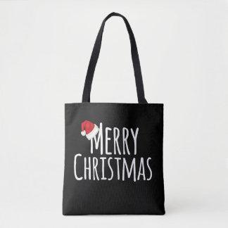 Frohe Weihnacht-wunderliche Weihnachtsmannmütze Tasche