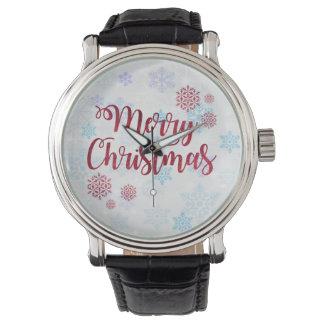 Frohe Weihnachten 2 Armbanduhr