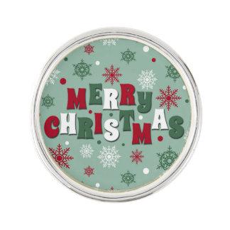 Frohe Weihnachten Anstecknadel