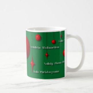 Frohe Weihnachten auf der ganzen Welt 1 Kaffeetasse