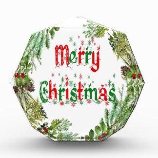 Frohe Weihnachten Auszeichnung