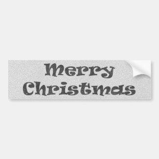 Frohe Weihnachten Autoaufkleber