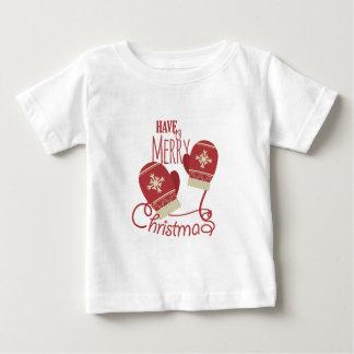 Frohe Weihnachten Baby T-shirt
