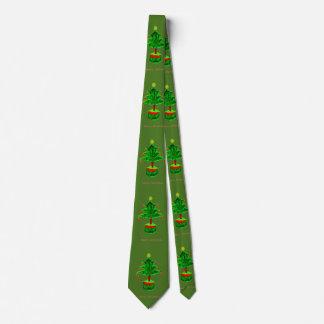 Frohe Weihnachten Bedruckte Krawatte